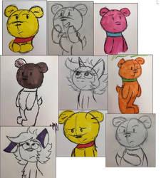 Doodles 3 by ArtisticAshGamer