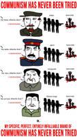 The communism.