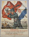 SS Police officer recruitment poster for Croats