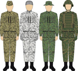 Alternate Japanese Imperial Army Uniforms. by someone1fy