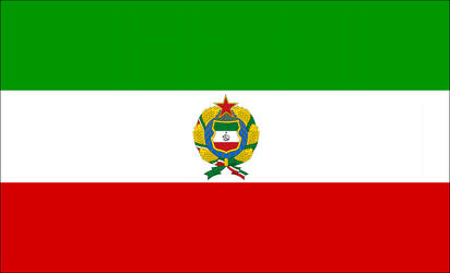 Flag of Communist Iran by someone1fy