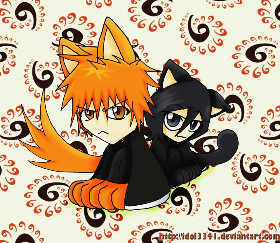 Chibi Ichigo and Rukia XDDD by idol3341 They also are really into SEX – big time, it's like their major pastime.