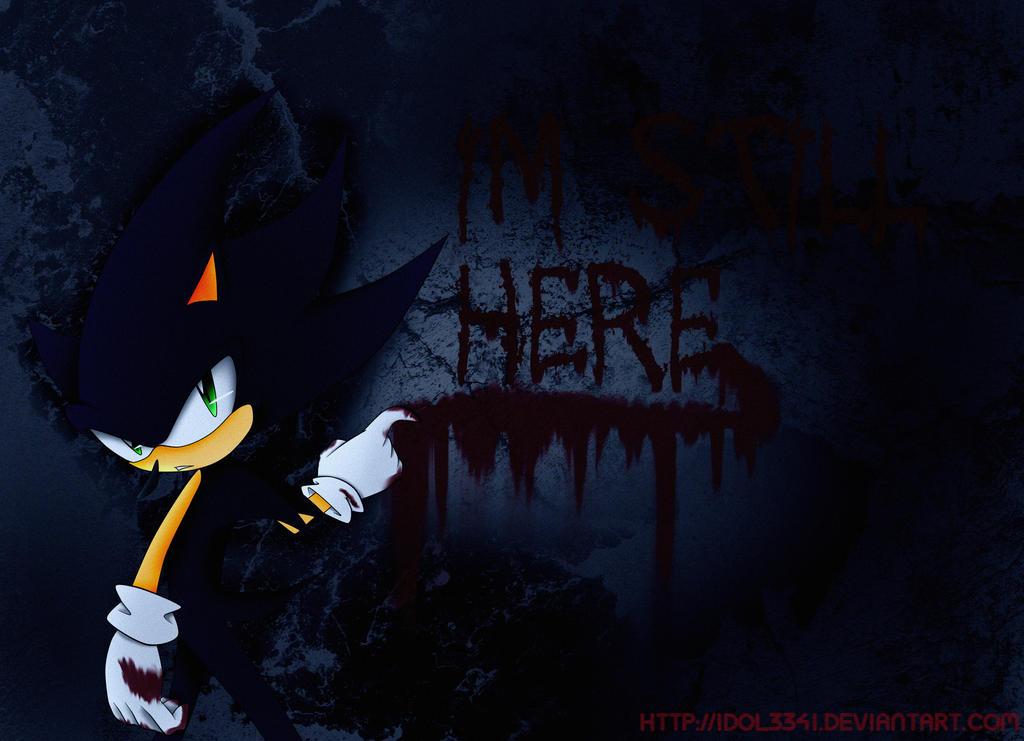Dark Sonic Im Still Here By Idolnya