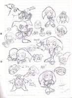 Impmon cute sketch XDDD by idolnya