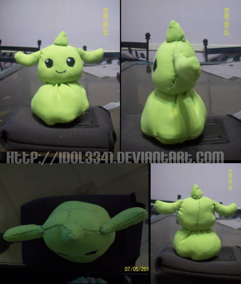 Gummymon Plushie by idolnya
