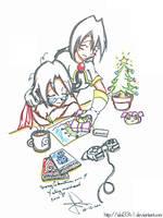 Merry christmas 2010 by idolnya