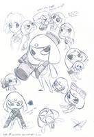 Giroro sketch by idolnya