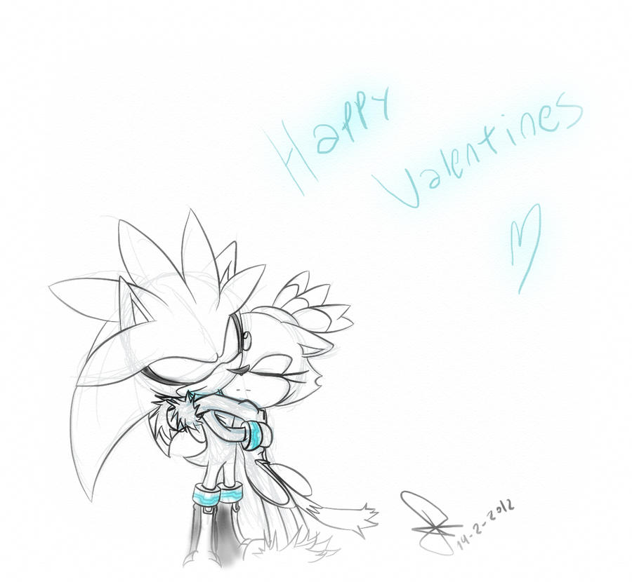 Happy valentines 2012  silvaze by idolnya