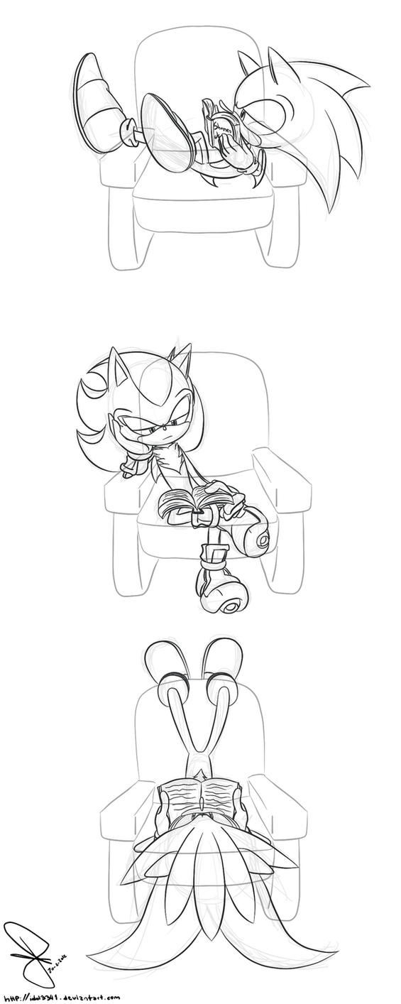 The sofa by idolnya