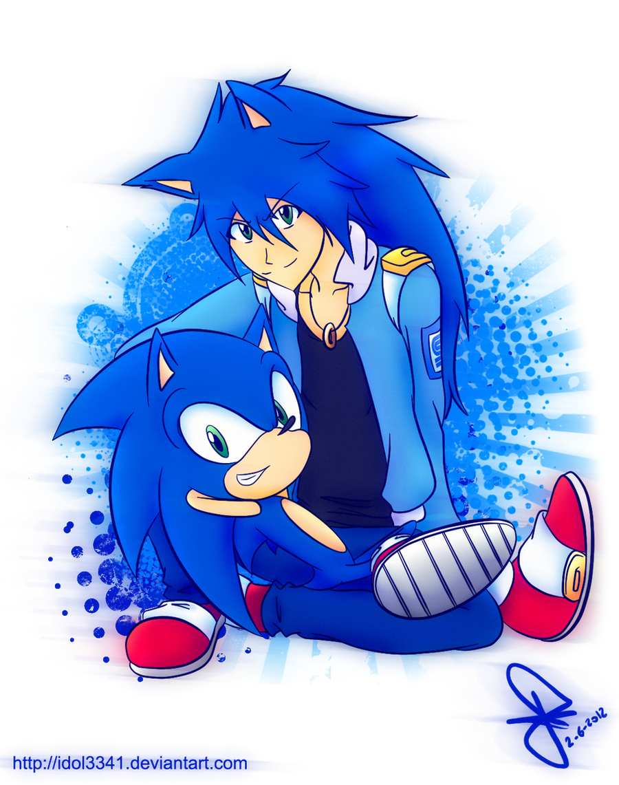 Sonic gijinka by idolnya