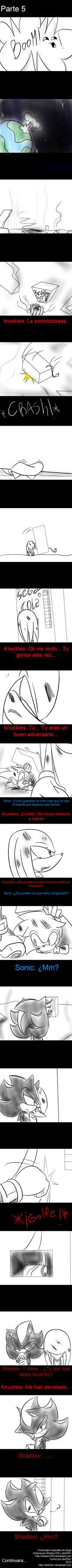 Knuckles consigue una soda parte 5 by idolnya