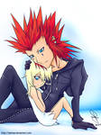 Namine and Axel