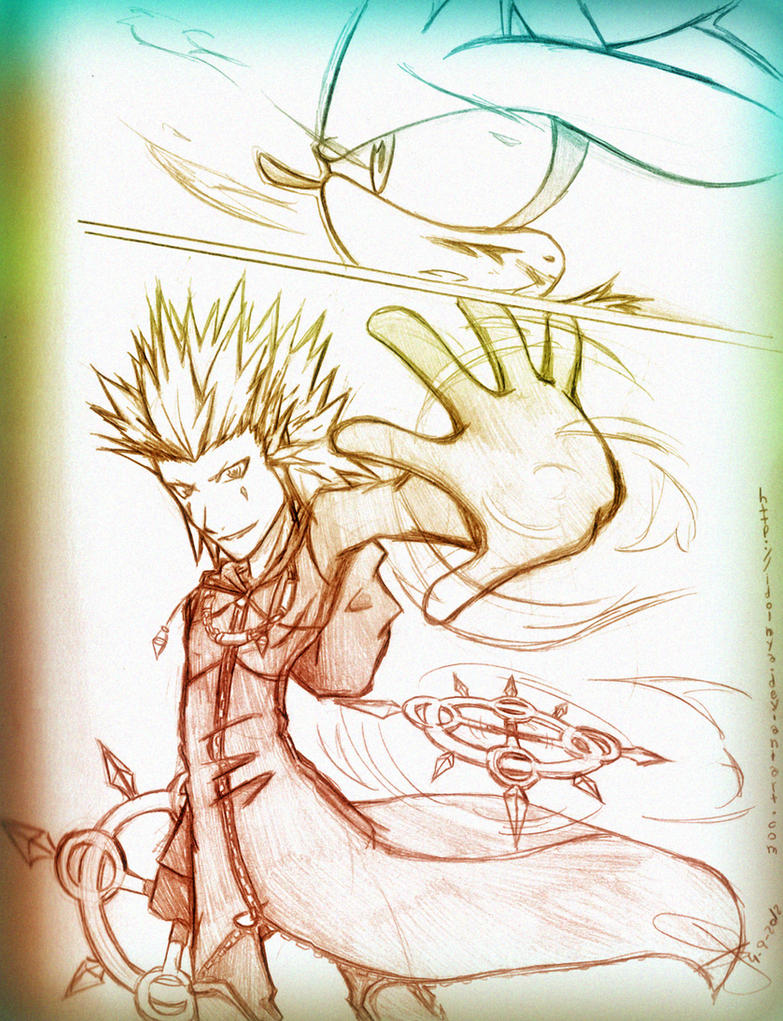 Axel vs Silver by idolnya