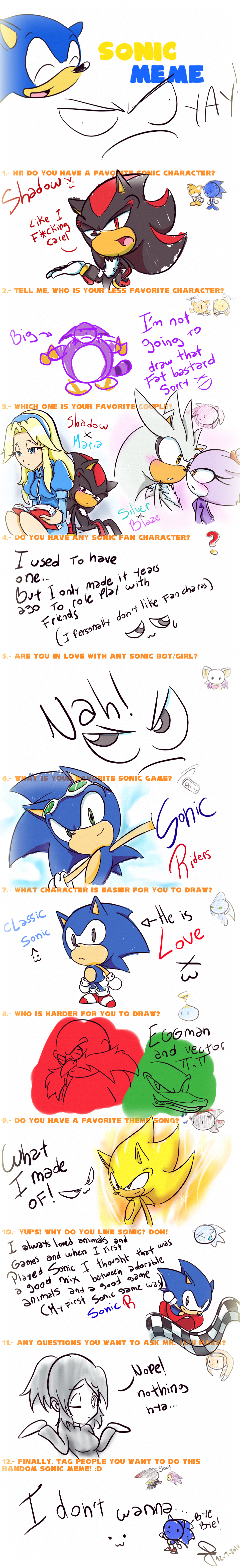 idol3341 Sonic meme by idolnya