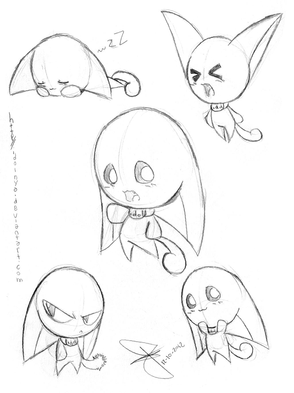 Idol Doodle by idolnya