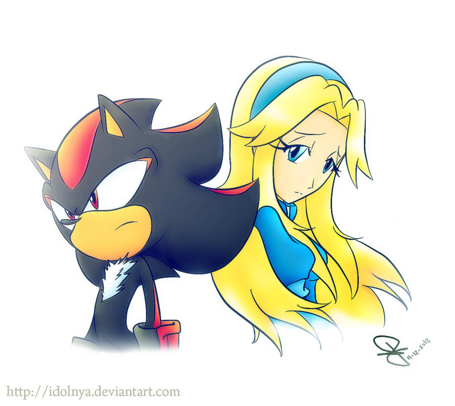 Shadow And Maria by idolnya