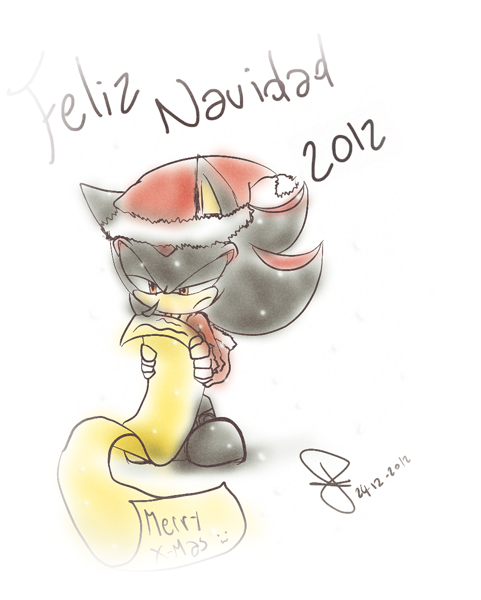Feliz navidad 2012 by idolnya