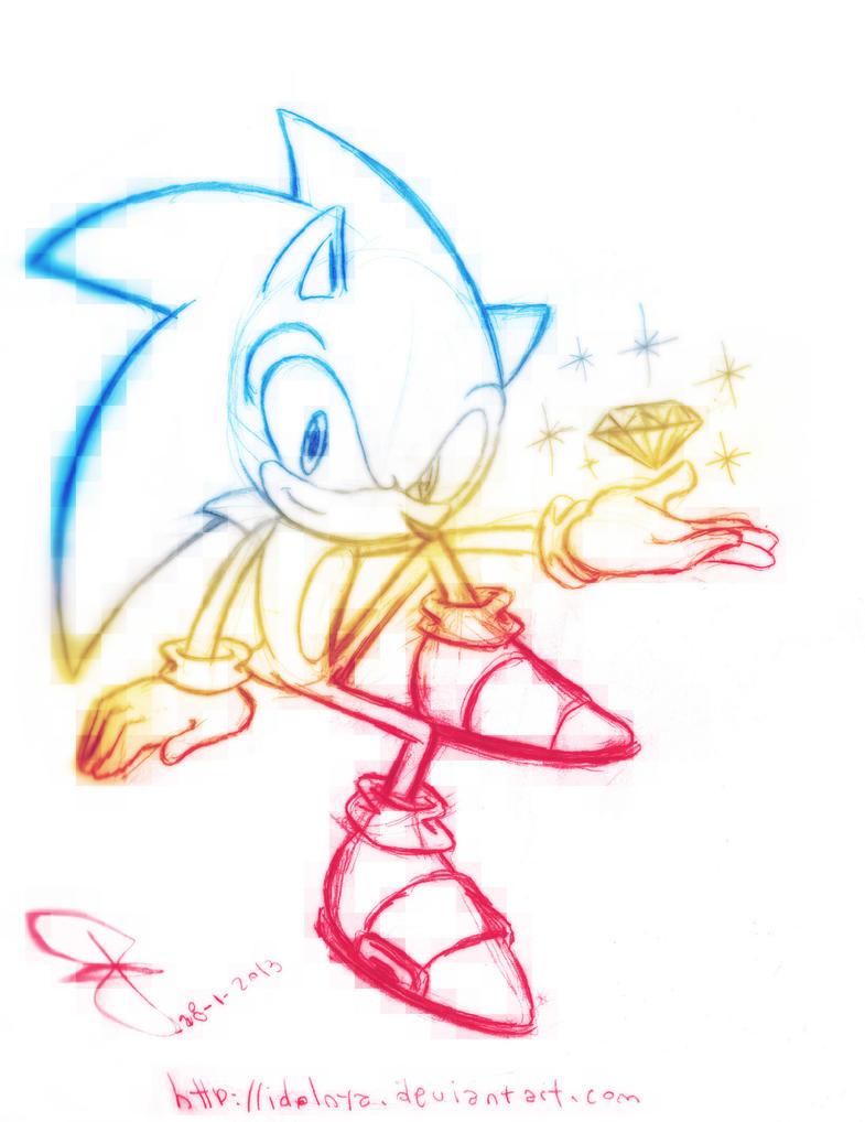 Sonic Shine Emerald by idolnya