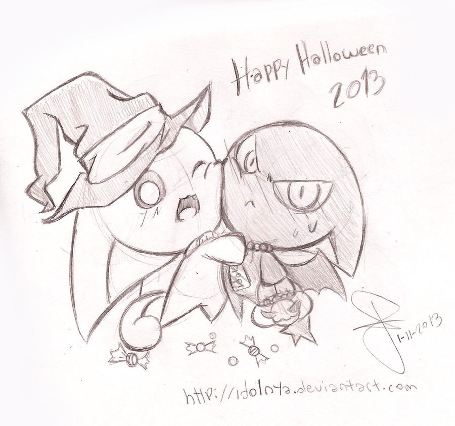 Halloween 2013 by idolnya