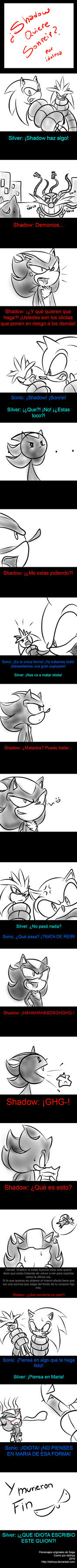 Shadow Quiere Sonreir? by idolnya