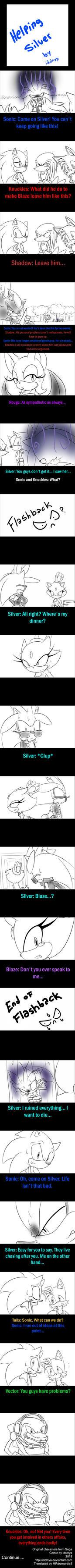 Helping Silver Part 1 by idolnya
