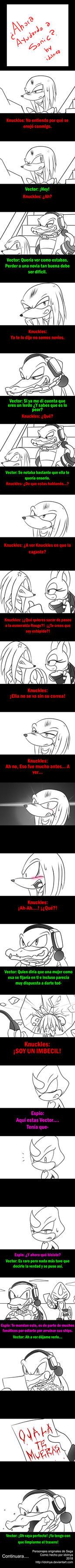 Ahora ayudando a Sonic Parte 1 by idolnya
