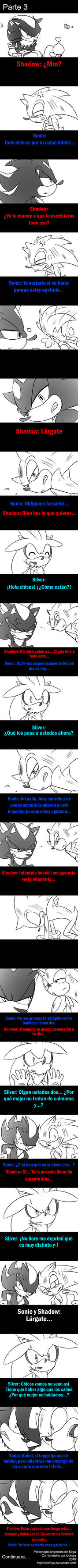 Ahora ayudando a Sonic parte 3 by idolnya