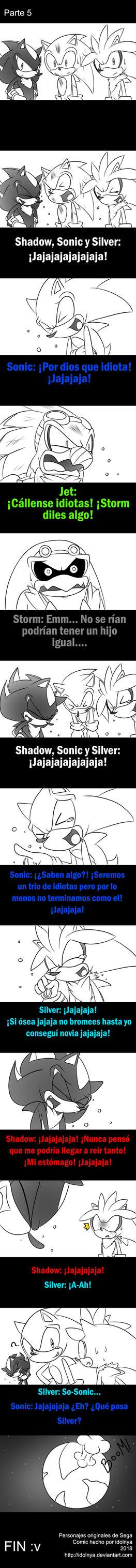 Ahora ayudando a Sonic parte 5 by idolnya