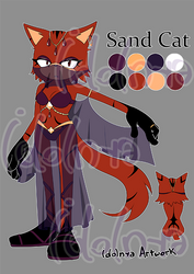 ADOPTABLE Auction 6 Sand Cat (OPEN)