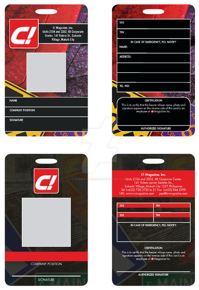Corporate id sample by tonieliemariae on deviantart corporate id sample by tonieliemariae pronofoot35fo Images