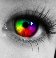 Rainbow Eye by BenFairweather