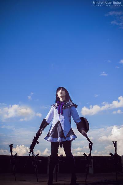 Akemi Homura by alainbrian