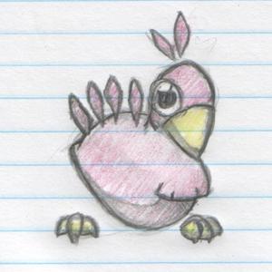 Chicken Pokemon number 1 by scrapmetal