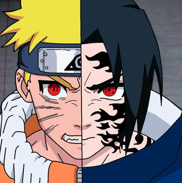 Madara Drawing In Pencil Naruto V. Sasuke-color...
