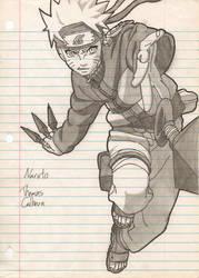Naruto: Kunai Throw by Madara-13