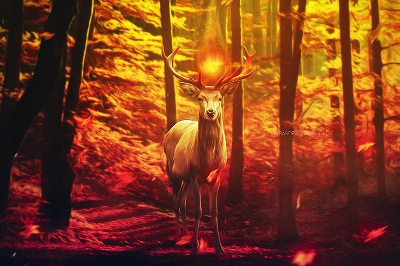 Spirit Beast. by Kavras