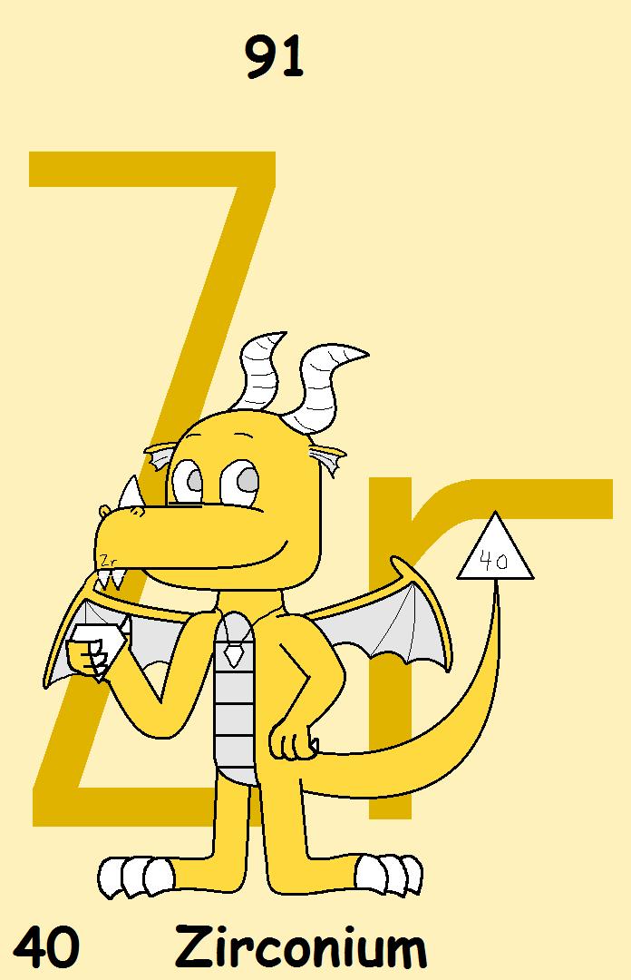 40 Zirconium The Dragon By Borontheplatypus On Deviantart
