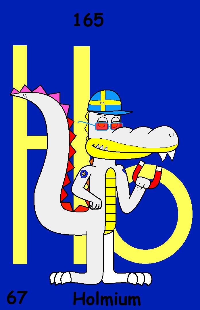 67 Holmium The Crocodile By Borontheplatypus On Deviantart