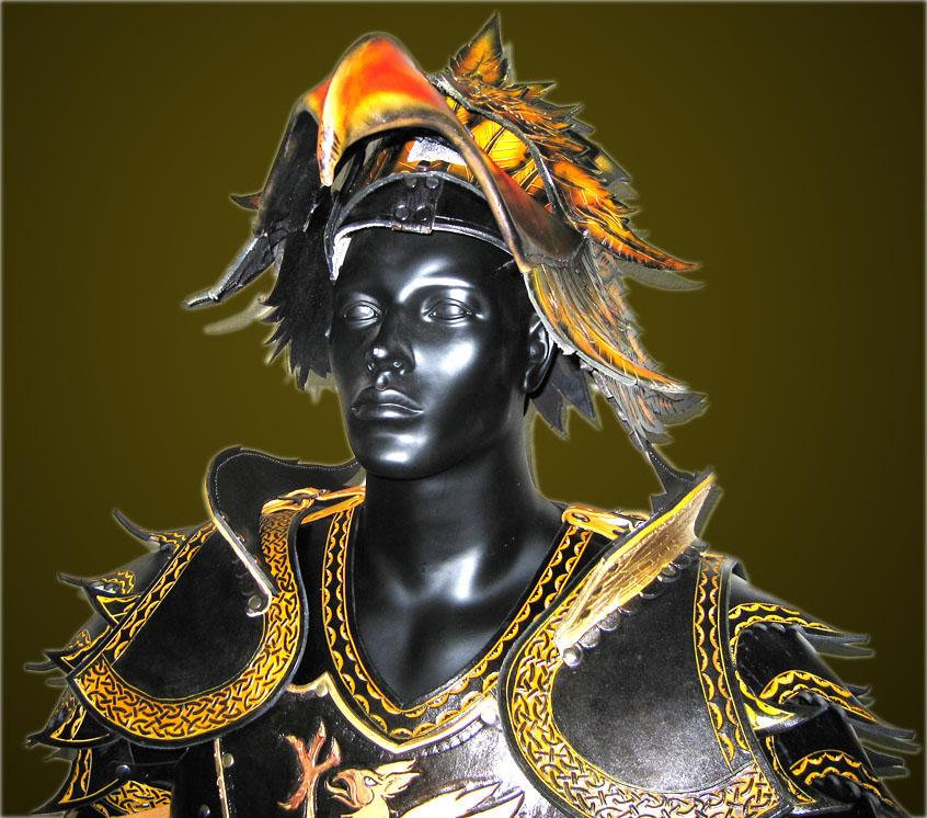 Gryphon Helmet - Opened Visor by Azmal