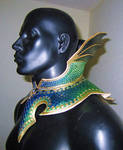 Dragon Armor Gorget and Collar