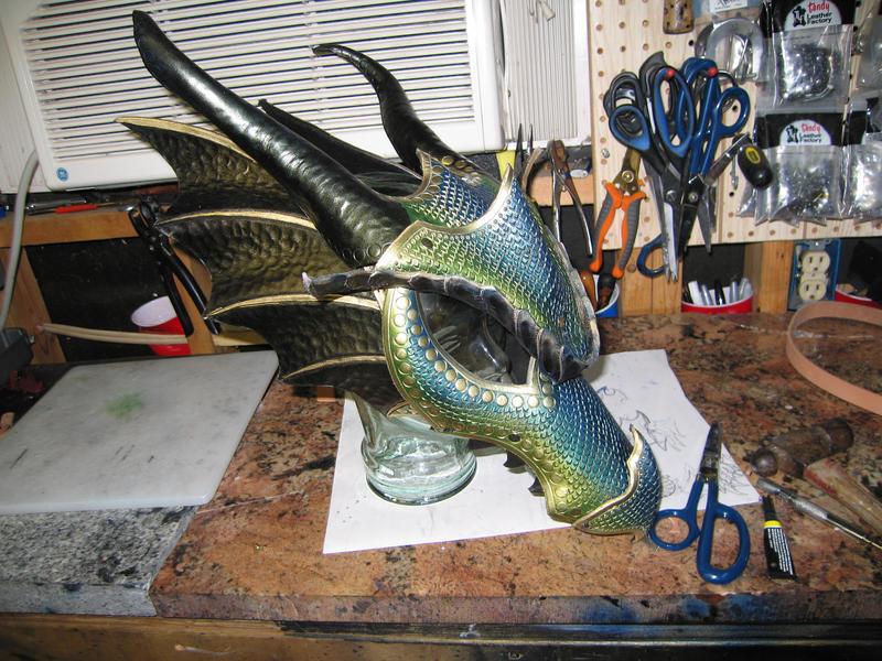 A Gathering of EarthWings (Feast) - Page 2 Dragon_helmet_progress_by_azmal