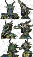 Dragon Armor Helmet