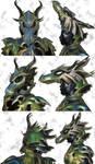 Dragon Armor Helmet