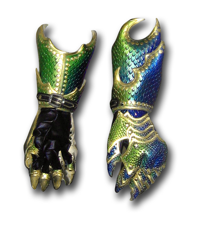 Dragon Armor Gauntlets by Azmal