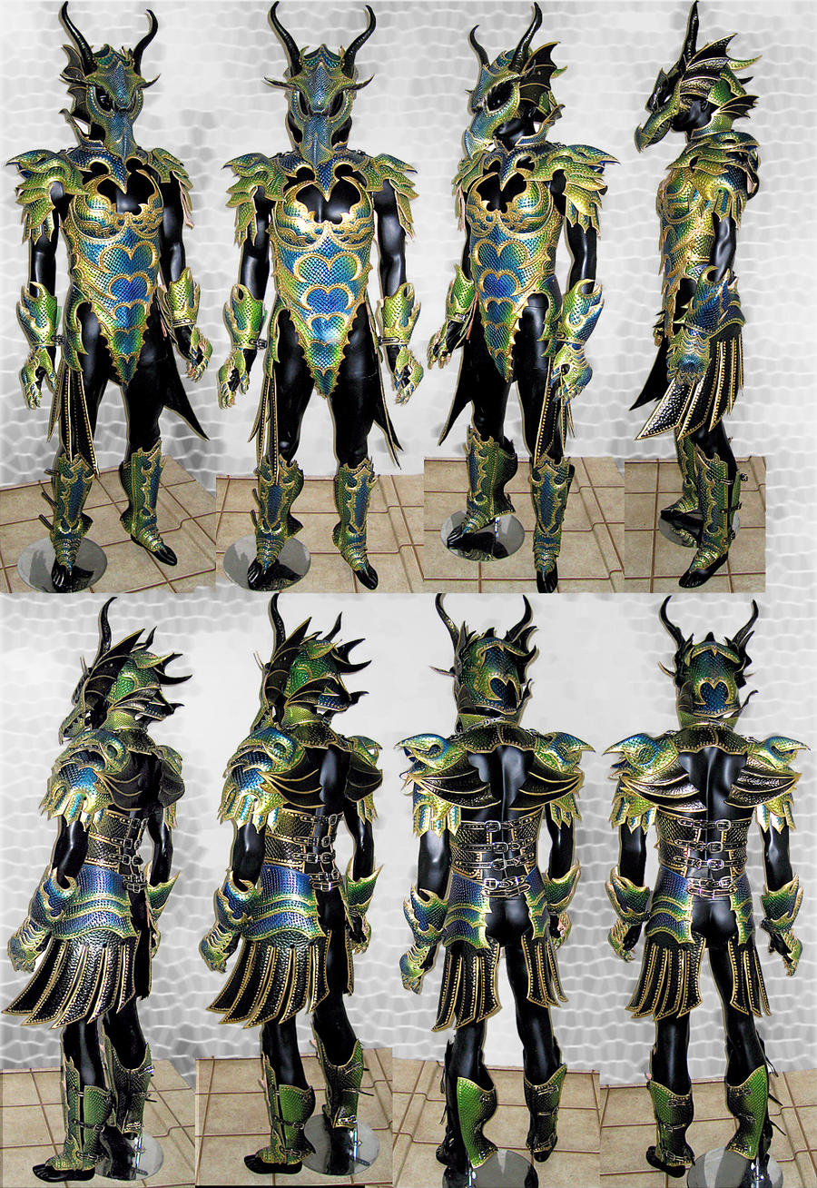 Female Dragon Armor - Compiled