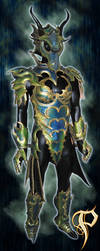 Female Dragon Armor Complete by Azmal
