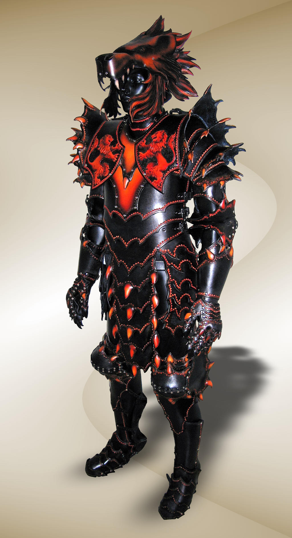 Lion Armor - Complete by Azmal