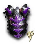 Purple Female Armored Corset