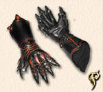 Lion Armor Claw Gauntlets