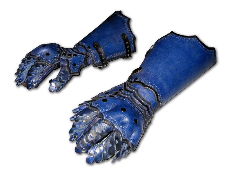 High Backed Gothic Gauntlets by Azmal